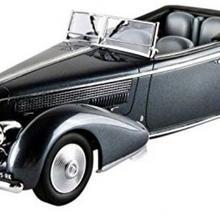 Minichamps Lancia Astura Tipo 233 Corto 1936 grey metallic
