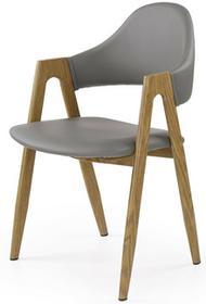 Halmar Zestaw: stół rozkładany Ruten i 4 krzesła K247