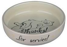 TRIXIE Miseczka porcelanowa - Thanks! ...for service! XL