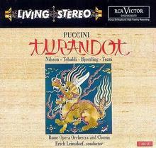 Puccini Turandot Jussi Bjoerling Birgit Nilsson Rome Opera Orchestra And Chorus