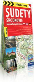 ExpressMap praca zbiorowa plastic! map Sudety Środkowe. Foliowana mapa turystyczna 1:60 000