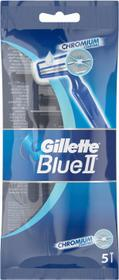 Gillette Jednorazowe maszynki do golenia, 5 szt. - Blue II Chromium Jednorazowe maszynki do golenia, 5 szt. - Blue II Chromium