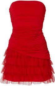 Bonprix Sukienka czerwony
