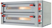 Pizza Group Dwukomorowy piec do pizzy ze stali nierdzewnej sterowany cyfrowo, 2x6 pizza 340 mm | Pyralis D12 P08PY12006