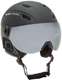 Black Crevice kask narciarski z wizjerem, dla dorosłych, czarny, XL BCR143824-CB-XL_carbon schwarz_XL