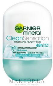 Garnier Antyperspirant w kulce - Mineral Clean Sensation Deodorant Antyperspirant w kulce - Mineral Clean Sensation Deodorant