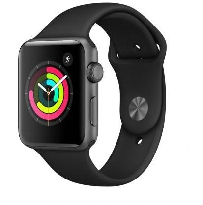 Apple Watch 3 42mm Aluminium / Czarny