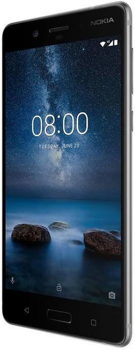 Nokia 8 64GB Dual Sim Srebrny