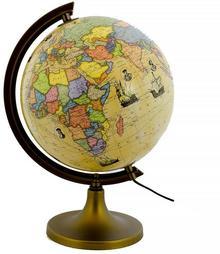 Zachem Globus polityczny trasami odkrywców 25 cm