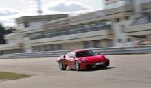 Ferrari F430 kontra Ferrari F458 Italia Poznań kierowca I okrążenie TAAK_FKFP1