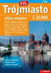Demart Trójmiasto plus 14 XXL atlas miasta - Demart