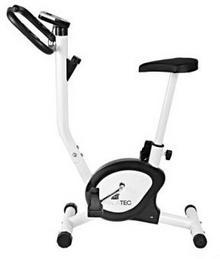 Malatec Stacjonarny rowerek treningowy biały 2403