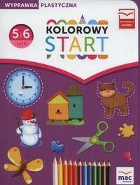 MAC Kolorowy start Pięciolatki i sześciolatki Wyprawka plastyczna - MAC Edukacja