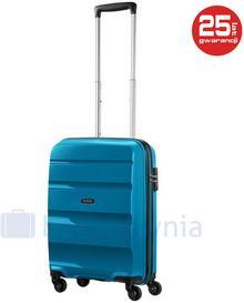 Samsonite AT by Mała walizka kabinowa AT BON AIR 59422 Niebieska - niebieski