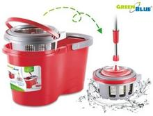 GreenBlue Mop obrotowy metalowy wirnik i drążek GB800 + dwa wkłady uniwersalny wymiar GB800 GB800