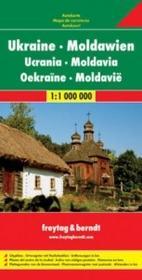 Freytag&berndt Ukraina Mołdawia mapa 1:1 000 000 Freytag & Berndt - Freytag & Berndt