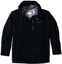 Columbia Men's Tall Lhotse II Interchange Jacket - Black/Graphite 1625194