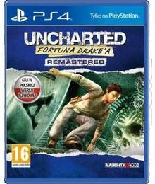Uncharted Fortuna Drake'a Remastered PS4