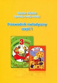 Olesiejuk Sp. z o.o. praca zbiorowa Teczka 3-latka. Zgaduję, rysuję, maluję. Przewodnik metodyczny. Część 1