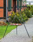 Korono Grill na trójnogu z rusztem ze stali czarnej 180 cm/70 cm średnica (180/103)