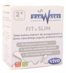 Zakwaski Żywe kultury bakterii - Fit&Slim - Zakwaski - 2x0,5g 03248