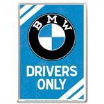Pocztówka 14x10 Cm Bmw Drivers Only