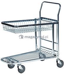 Kongamek Wózek sklepowy, marketowy. Wym: 870x530x1010mm