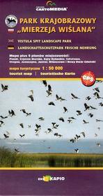 """CartoMedia Park Krajobrazowy """"Mierzeja Wiślana"""" mapa 1:50 000 CartoMedia"""