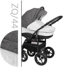Baby-Merc ZipyQ 3w1 szaro-biały