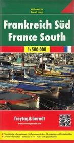 Freytag&Berndt Francja Południowa mapa 1:500 000 Freytag & Berndt