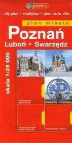 Daunpol Poznań, Luboń, Swarzędz - plan miasta (skala: 1:25 000) - Euro Pilot
