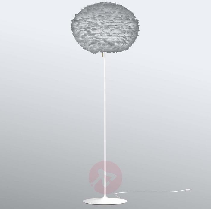 Vita COPENHAGEN Lampa stojąca Eos large, klosz z gęsich piór