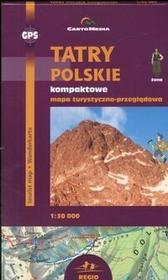 Cartomedia Tatry Polskie kompaktowe Mapa turystyczno-przeglądowa  (skala 1:30 000) - CartoMedia