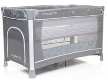 4Baby łóżeczko podróżne Moderno szary