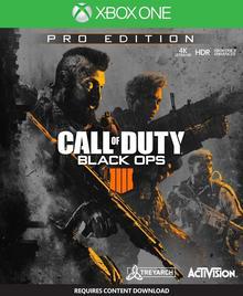 Call of Duty: Black Ops 4 Pro Edition XONE