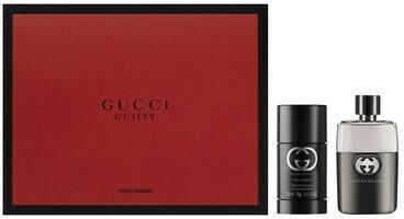 Gucci Guilty Pour Homme Zestaw Woda toaletowa spray 50 ml Dezodorant w sztyfcie 75 ml