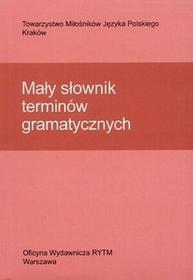 Mały słownik terminów gramatycznych - Cząstka-Szymon Bożena, Helena Synowiec, Krystyna Urban