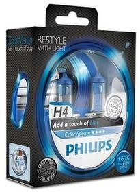 Philips H4 12V 60/55W P43t-38 ColorVision Blue