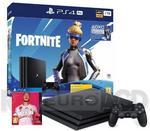 Sony PlayStation 4 Pro 1TB Czarny Fortnite Neo Versa Bundle + FIFA 20