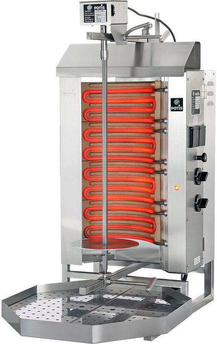 Potis Gyros, kebab, grill elektryczny 450x500x920 mm | E2 777525