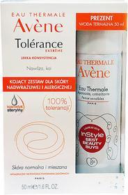 Pierre-Fabre Avene Tolerance Extreme Zestaw emulsja o lekkiej konsystencji, 50ml + woda termalna, 50ml
