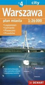 Demart Warszawa - plan miasta (skala: 1:26 000) - Demart