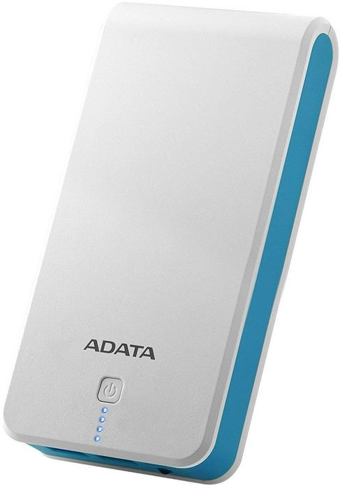 Adata Power Bank P20100 20100 mAh 2.1 A biało-niebieski