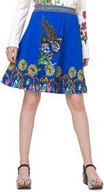 Desigual spódnica damska Henry XS niebieski