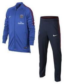 Nike Chłopięcy dres piłkarski Paris Saint-Germain Dri-FIT Squad - Niebieski 854722-440