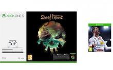 Microsoft Xbox One S 1 TB + Sea of Thieves +FIFA 18 + XBL