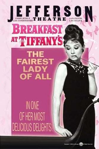 empireposter Empire plakatBreakfast at Tiffany'sHepburn, Audrey Version 3rozmiar (cm), ok. 68X 98plakatplakat filmowy kino Movie Audrey Hepburn wysoki połysk 353887
