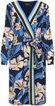 More & More Letnia sukienka 'Printed FLoral Dress Active' Niebieski / Mieszane Kolory / Czarny
