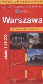 Daunpol Warszawa - plan miasta (skala 1:26 000) - Praca zbiorowa