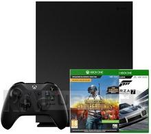 Microsoft Xbox One X 1TB + Forza Motorsport 7 + Playerunknowns Battlegrounds